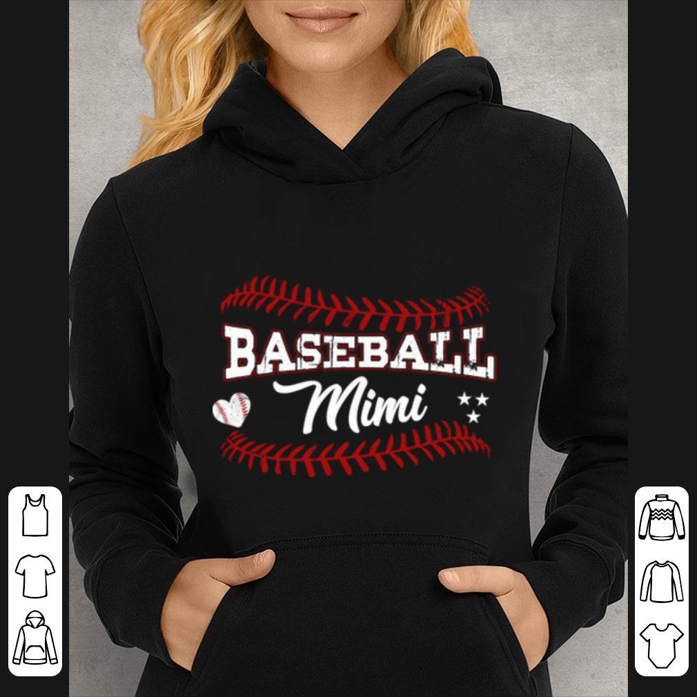 Top Baseball Mimi Softball Grandma Gift For Mother's Day shirt