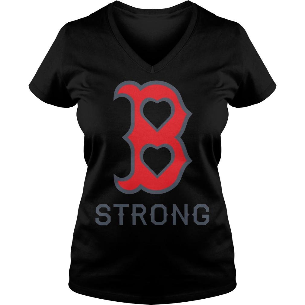 Boston Strong V Neck