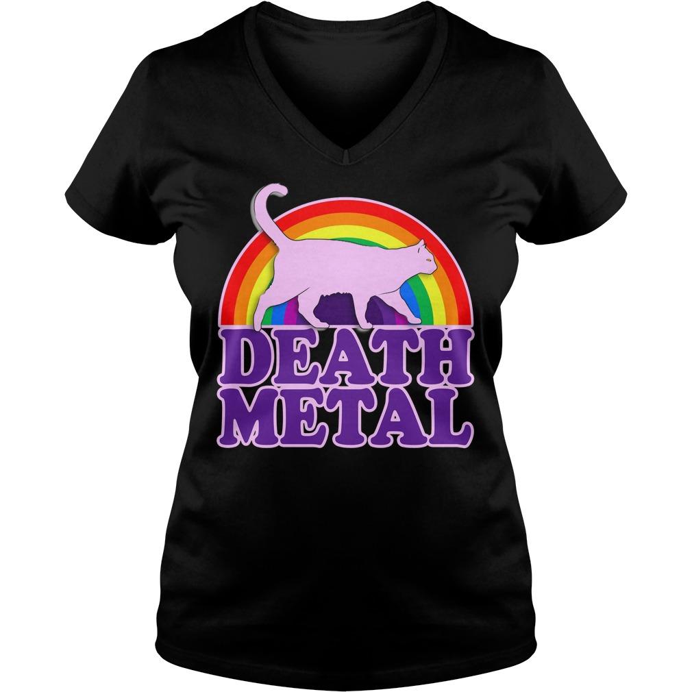 death metal cat shirt hoodie sweater longsleeve t shirt. Black Bedroom Furniture Sets. Home Design Ideas