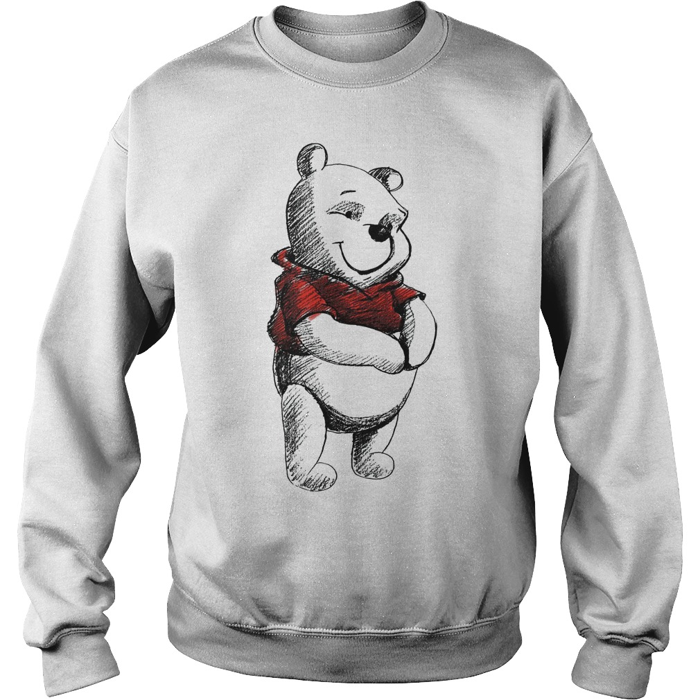 Disney Sketch Of Winnie The Pooh Sweater