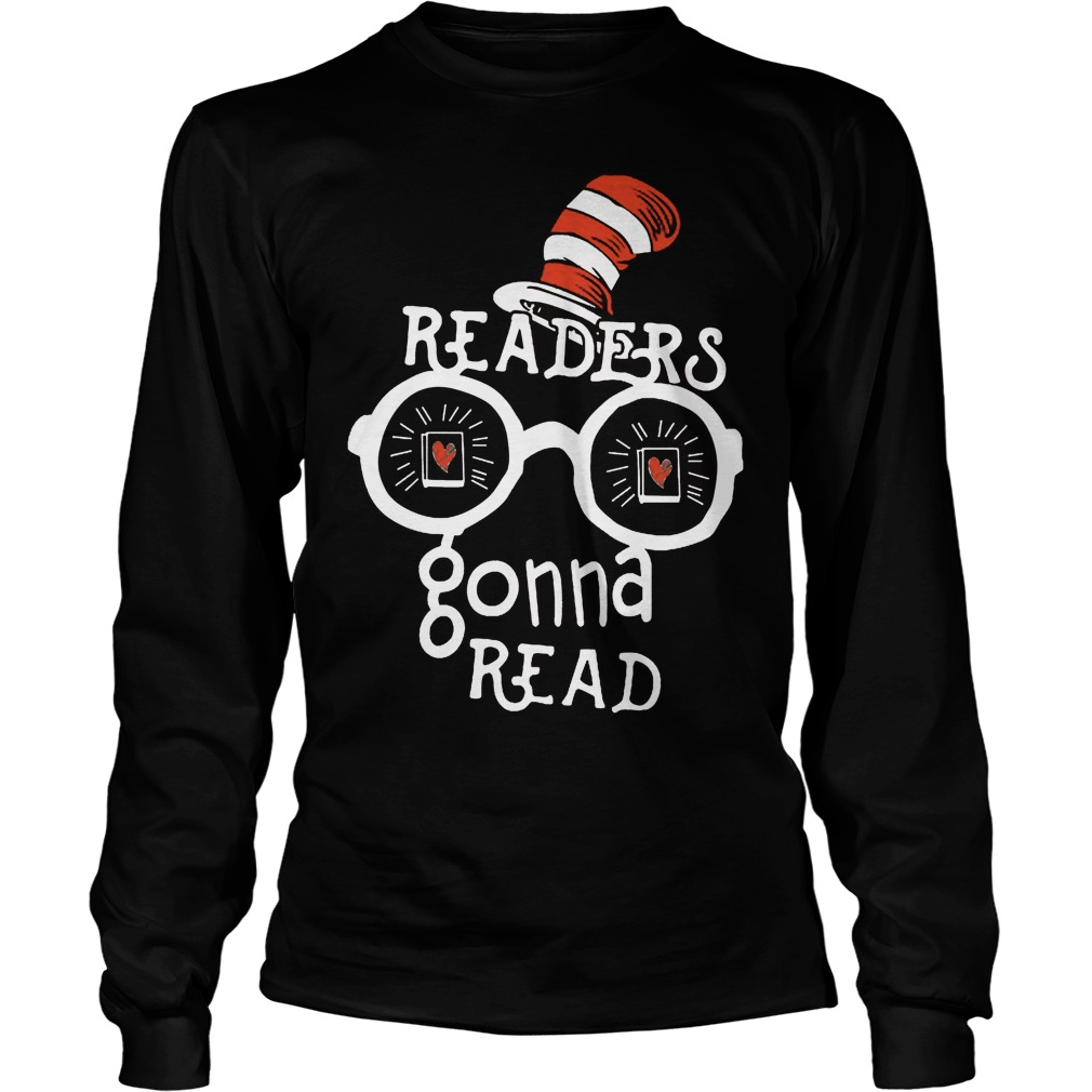 Dr Seuss Readers Gonna Read Longsleeve