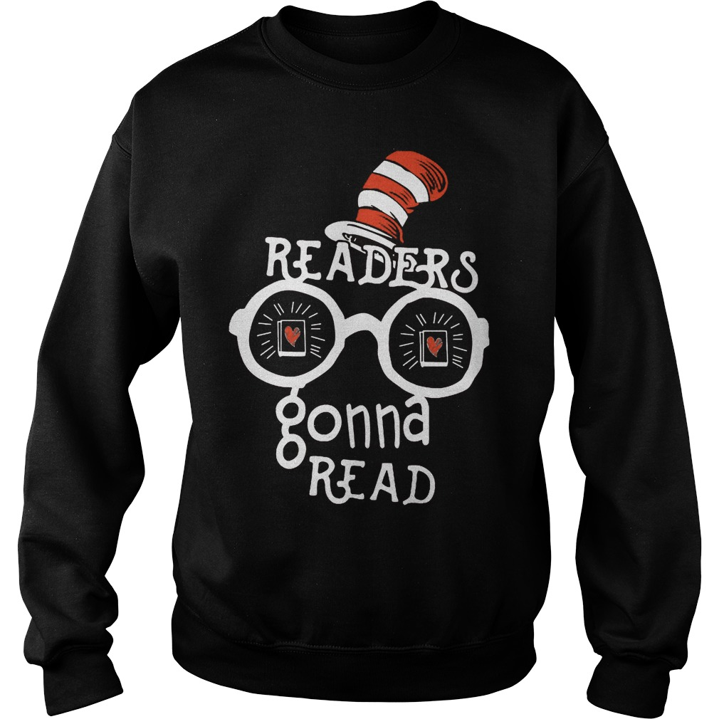Dr Seuss Readers Gonna Read Sweater