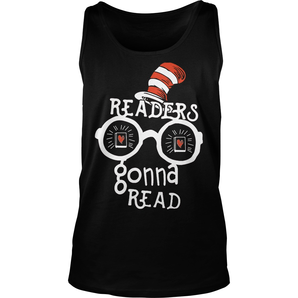 Dr Seuss Readers Gonna Read Tanktop