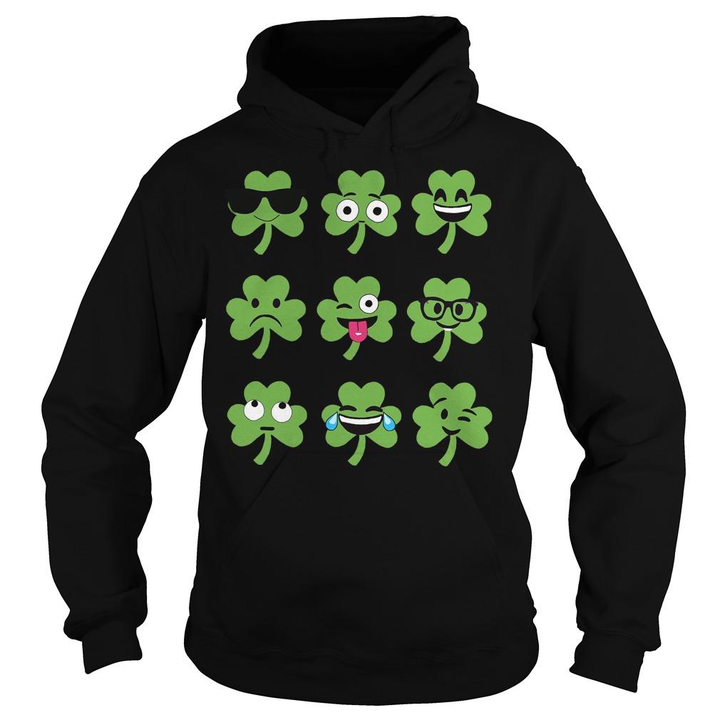 Emoji St Patricks Day Hoodie