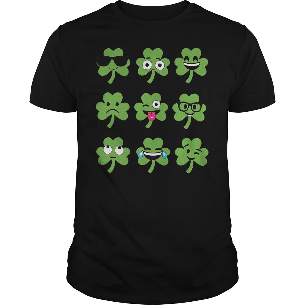 Emoji St Patricks Day Shirt