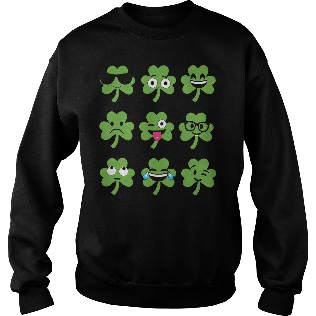 Emoji St Patricks Day Sweater