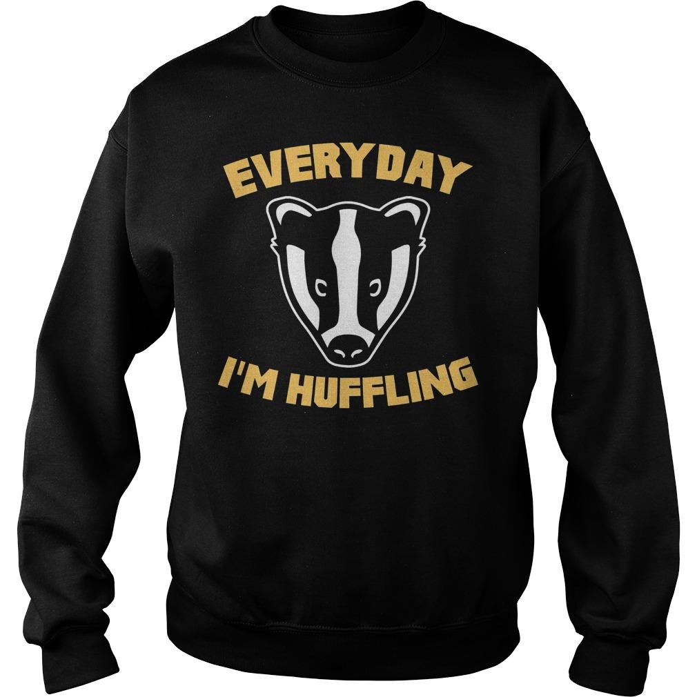 Everyday I'm Huffling Huffling Sweater