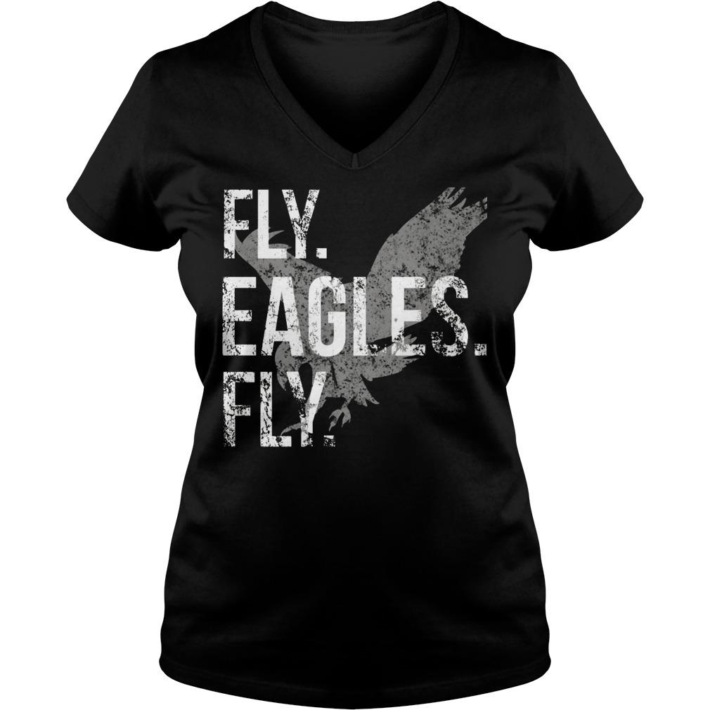 Fly Eagles Fly V Neck