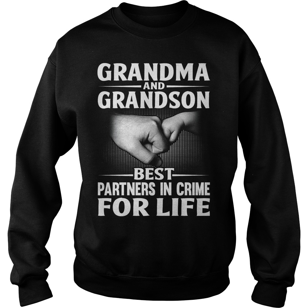 Grandma And Grandson Best Partners In Crime For Life Sweater