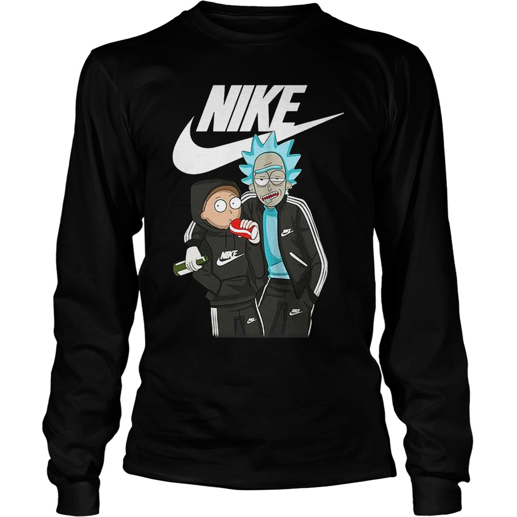 Official Nike Rick And Morty Longsleeve