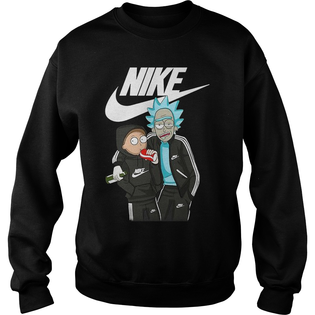 Official Nike Rick And Morty Sweater
