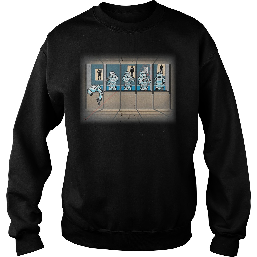 Star War Shooting Gallery Sweater
