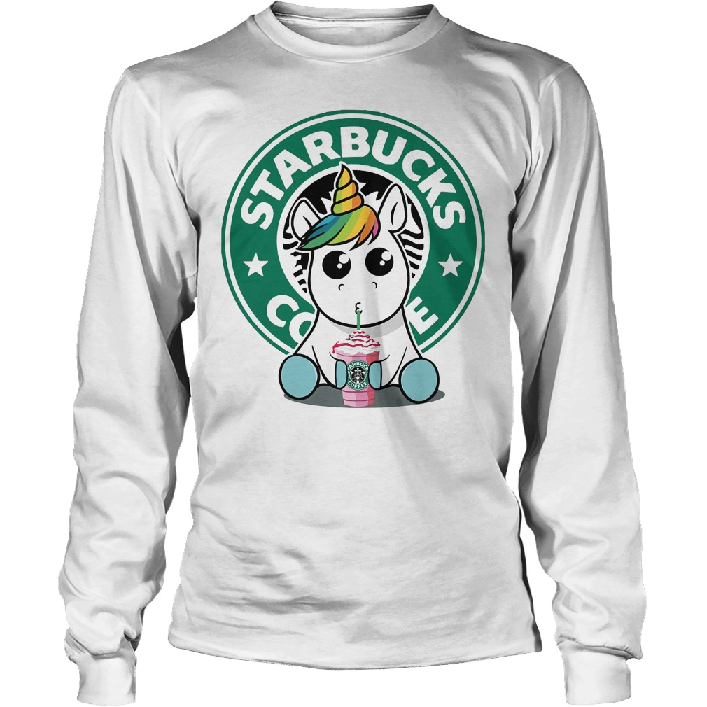 Unicorn Drink Starbucks Coffee Longsleeve