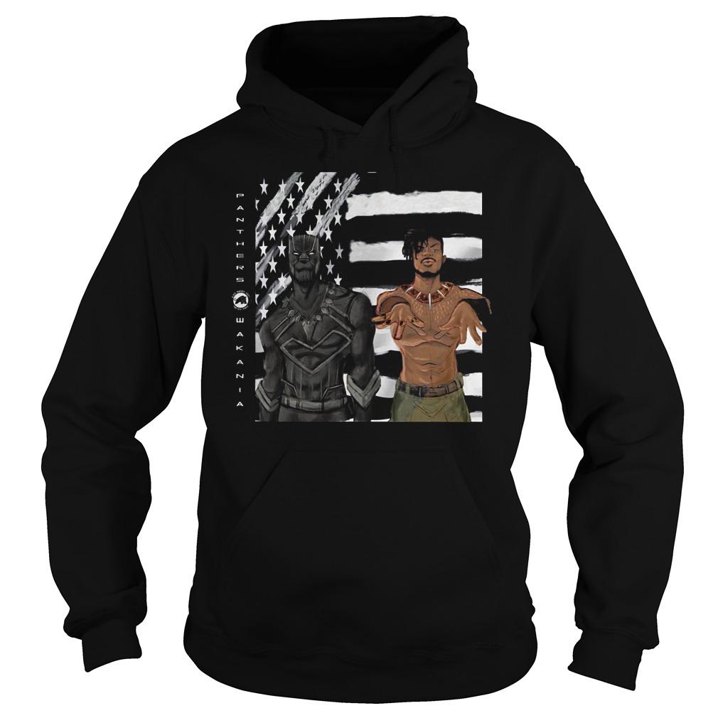 Erik Killmonger And Tchalla Black Panther Hoodie
