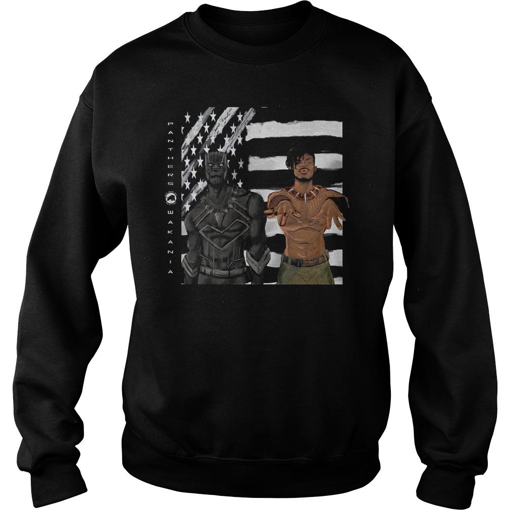 Erik Killmonger And Tchalla Black Panther Sweater