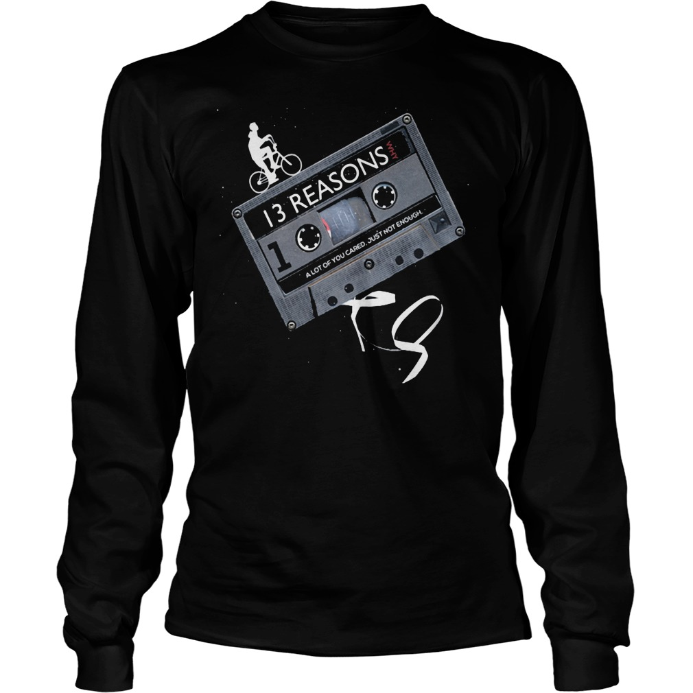 13 Reasons Why 13rw Longsleeve