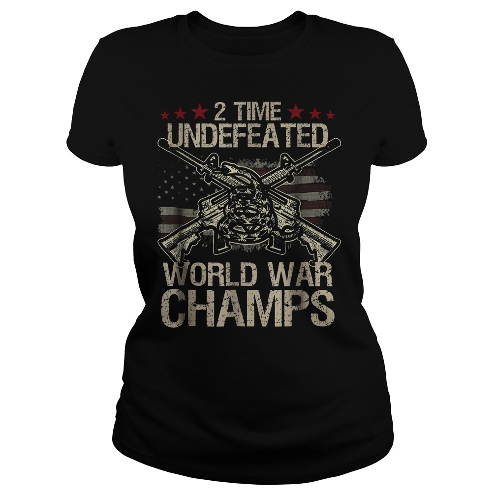 2 Time World War Champs Ladies