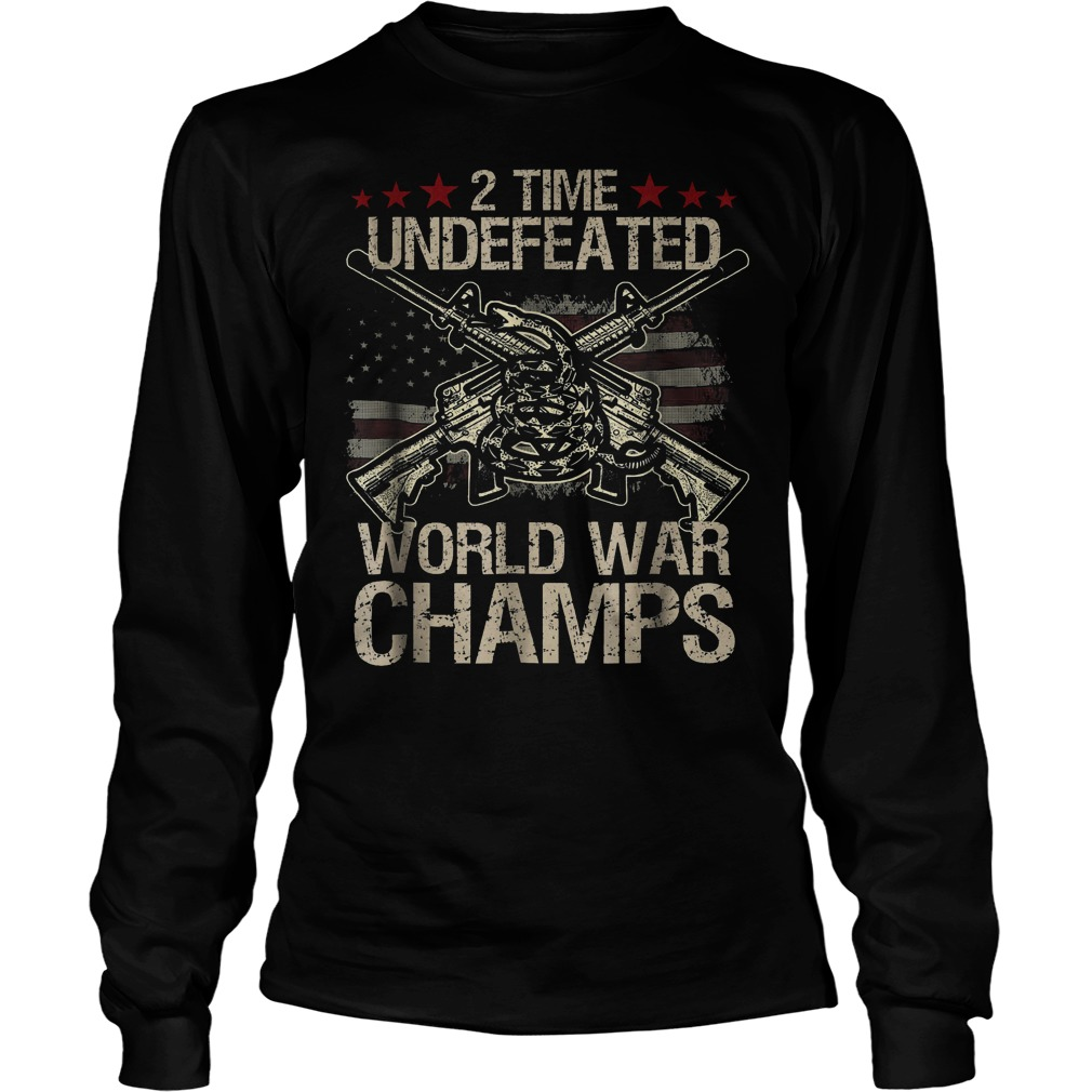 2 Time World War Champs Longsleeve