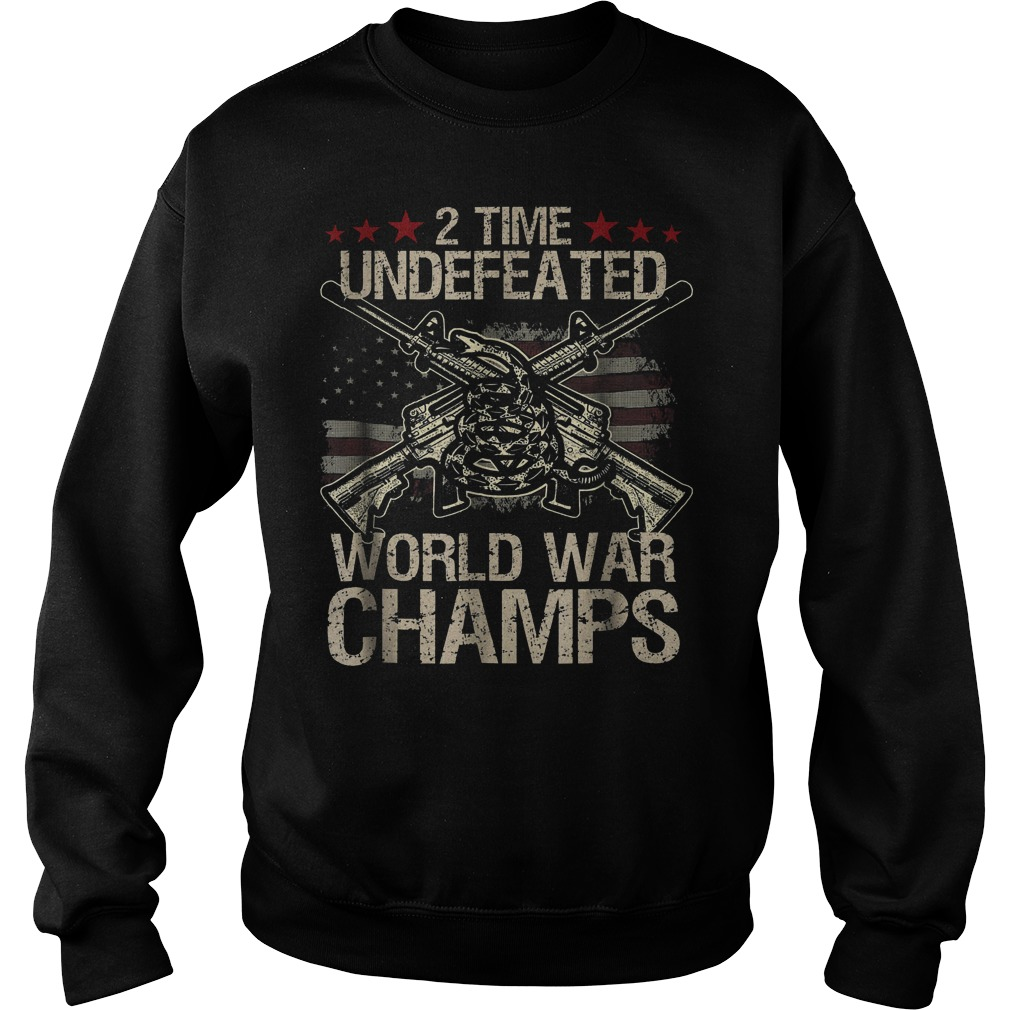 2 Time World War Champs Sweater