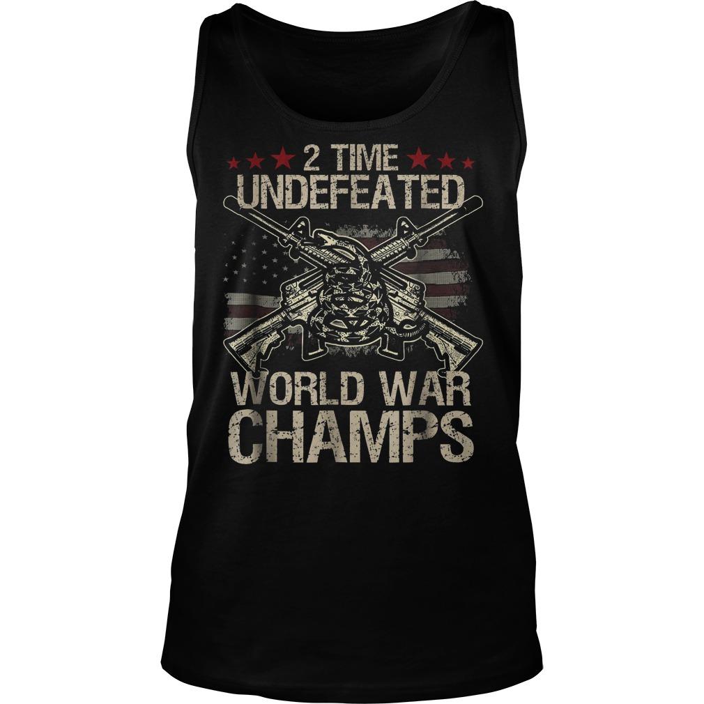 2 Time World War Champs Taktop
