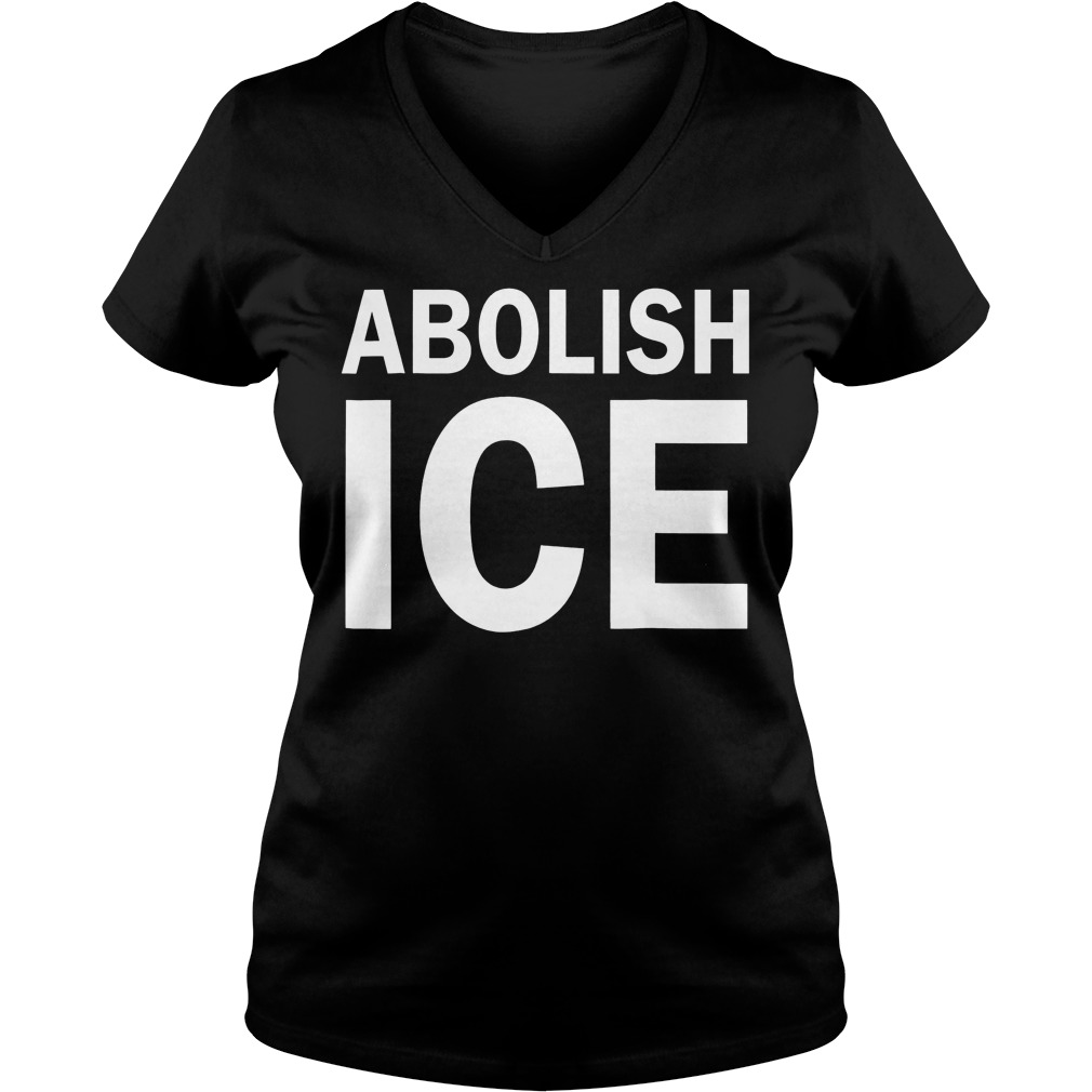 Abolish Ice Immigration V Neck