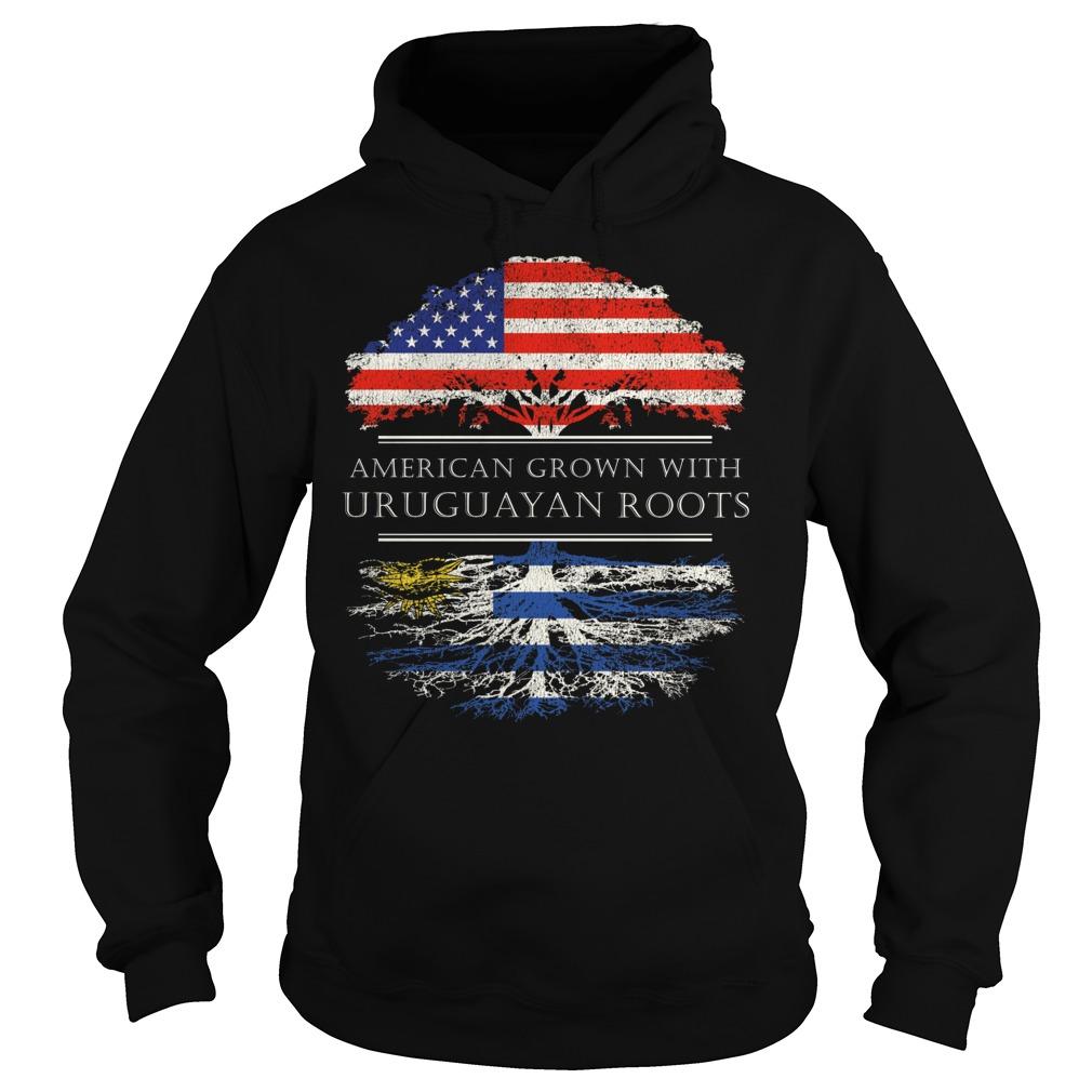American Grown With Uruguayan Roots Hoodie