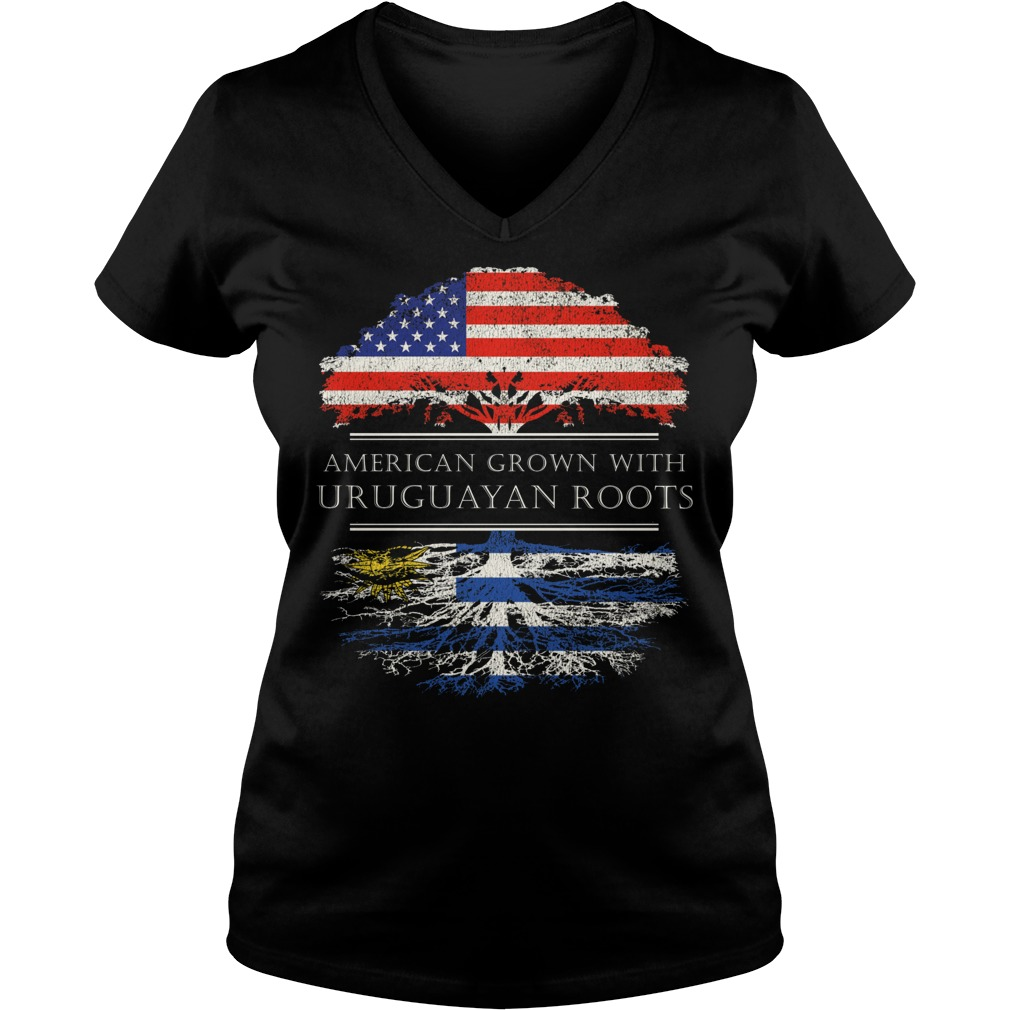 American Grown With Uruguayan Roots V Neck