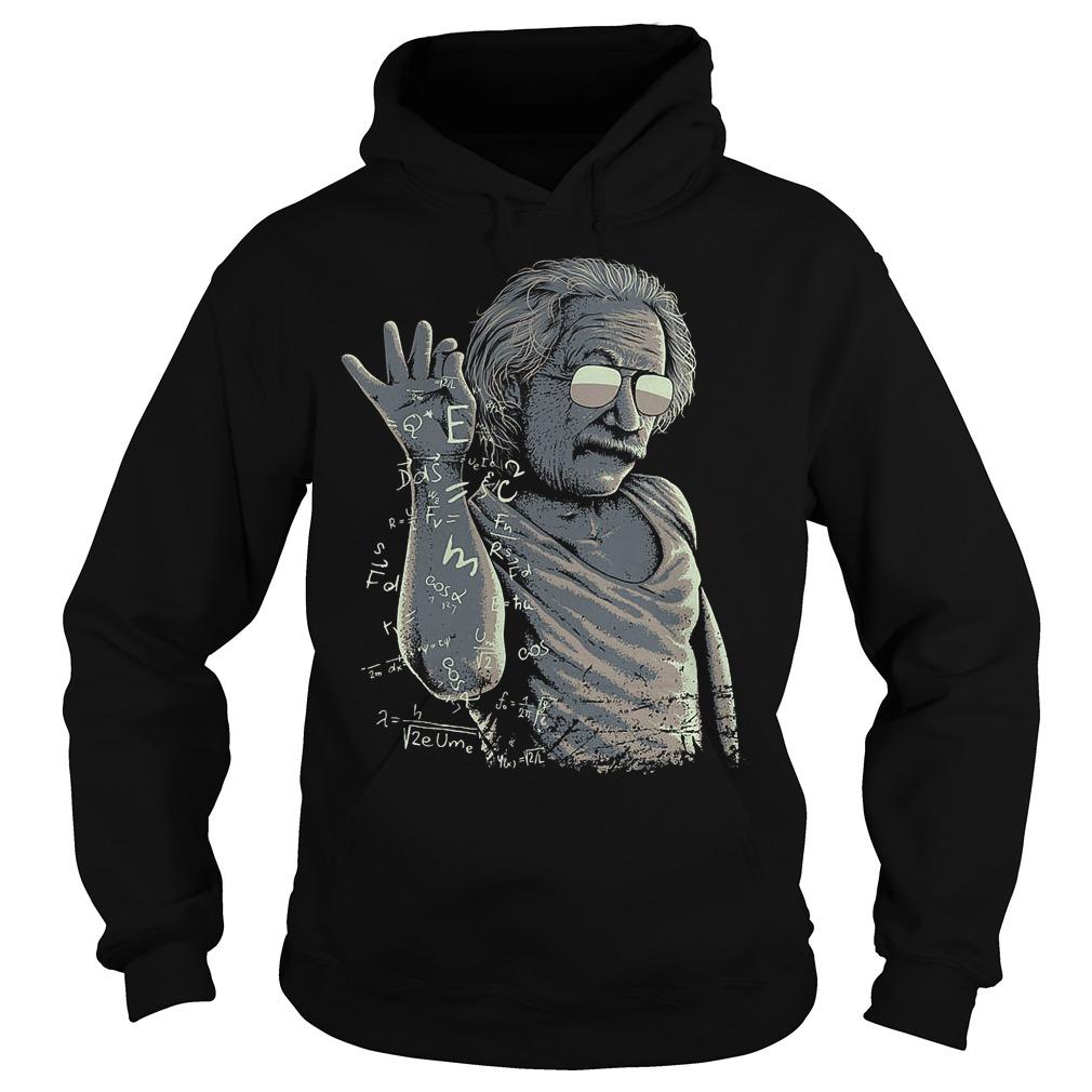 Einstein And Salt Bae Hoodie