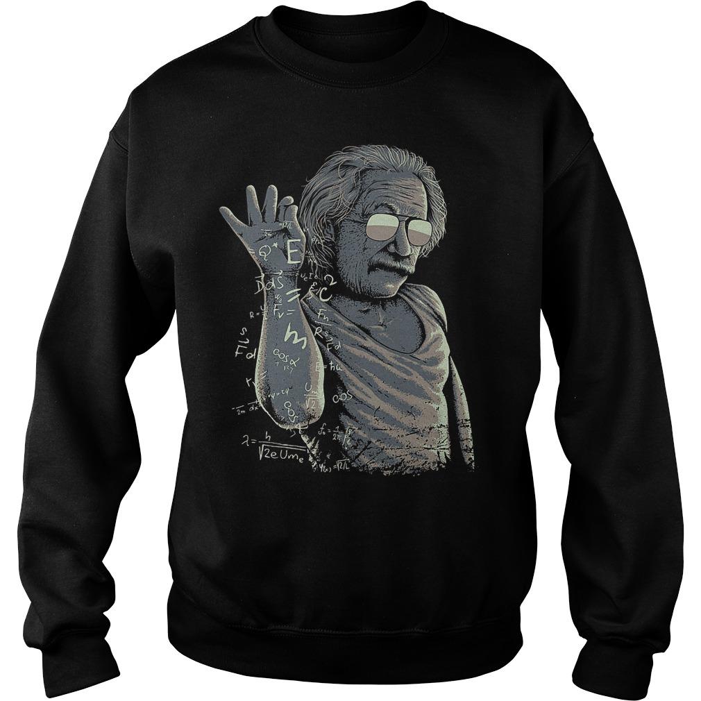Einstein And Salt Bae Sweater