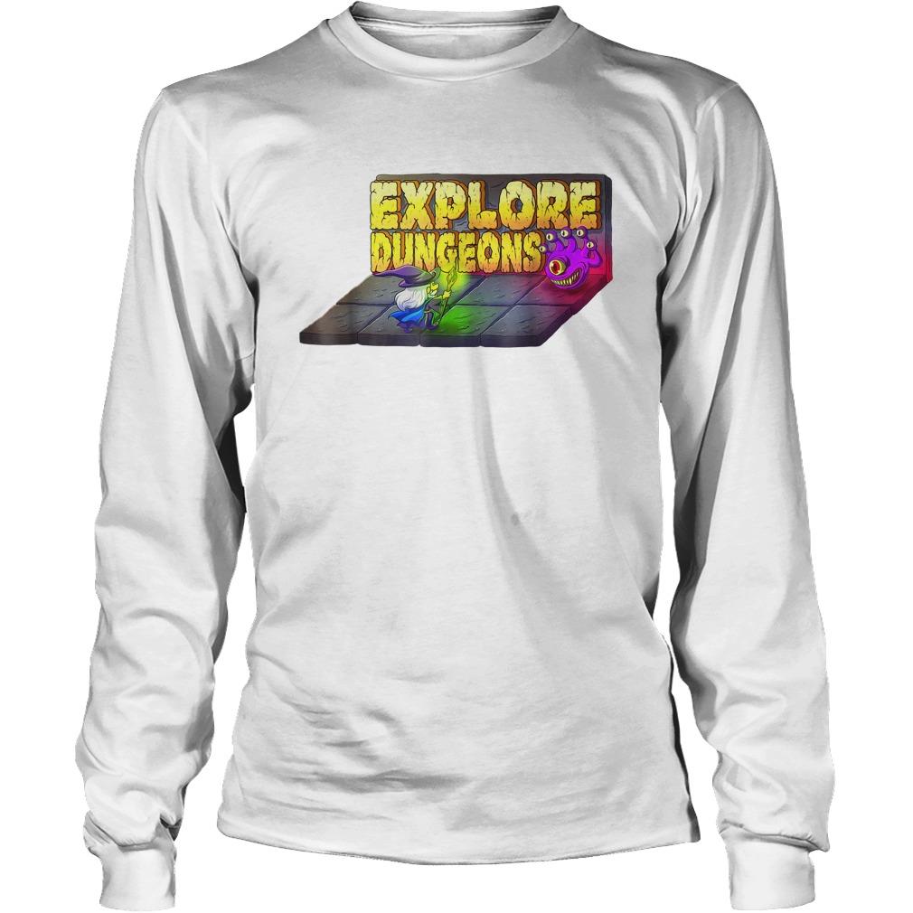Explore Dungeons Logo Tee Longsleeve
