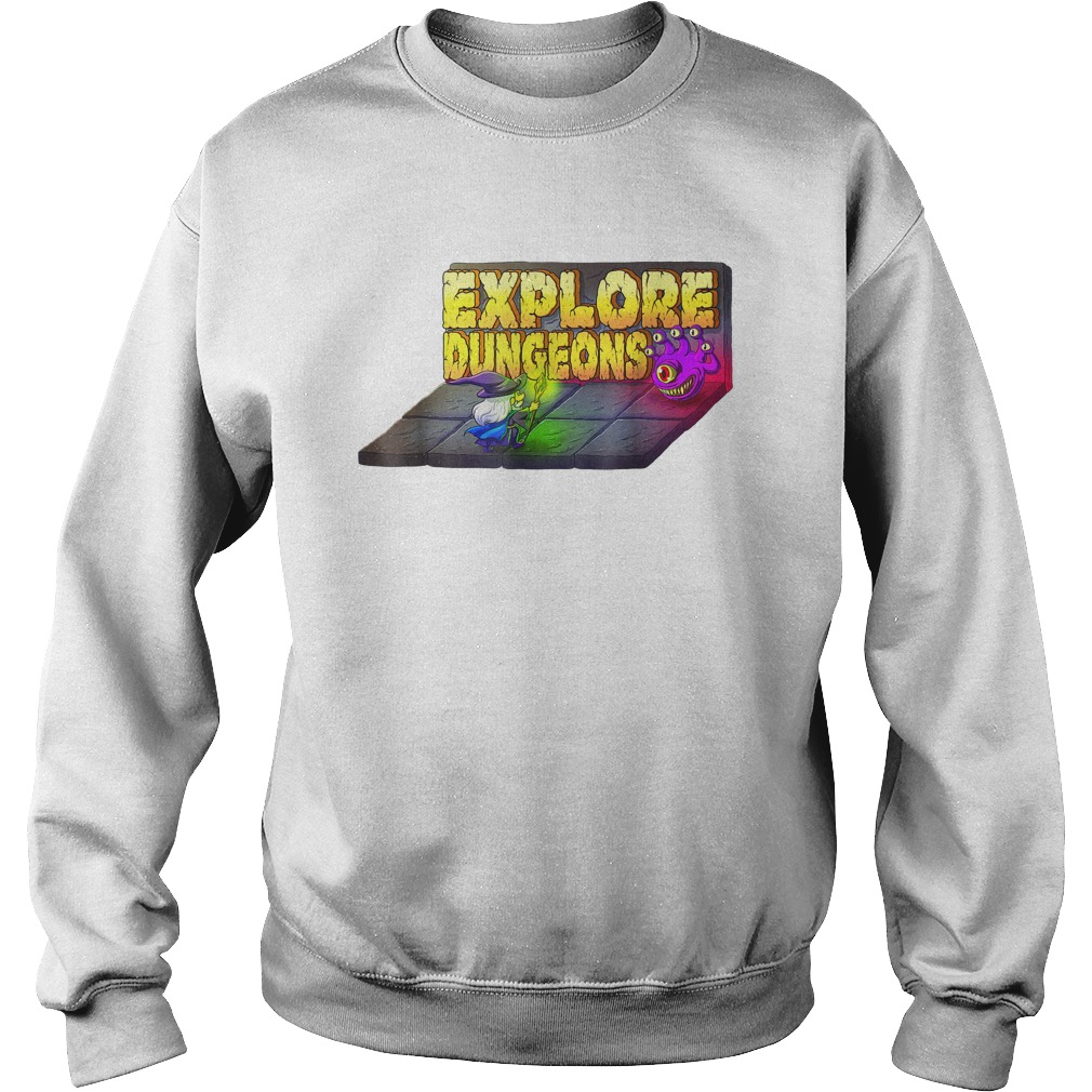 Explore Dungeons Logo Tee Sweater