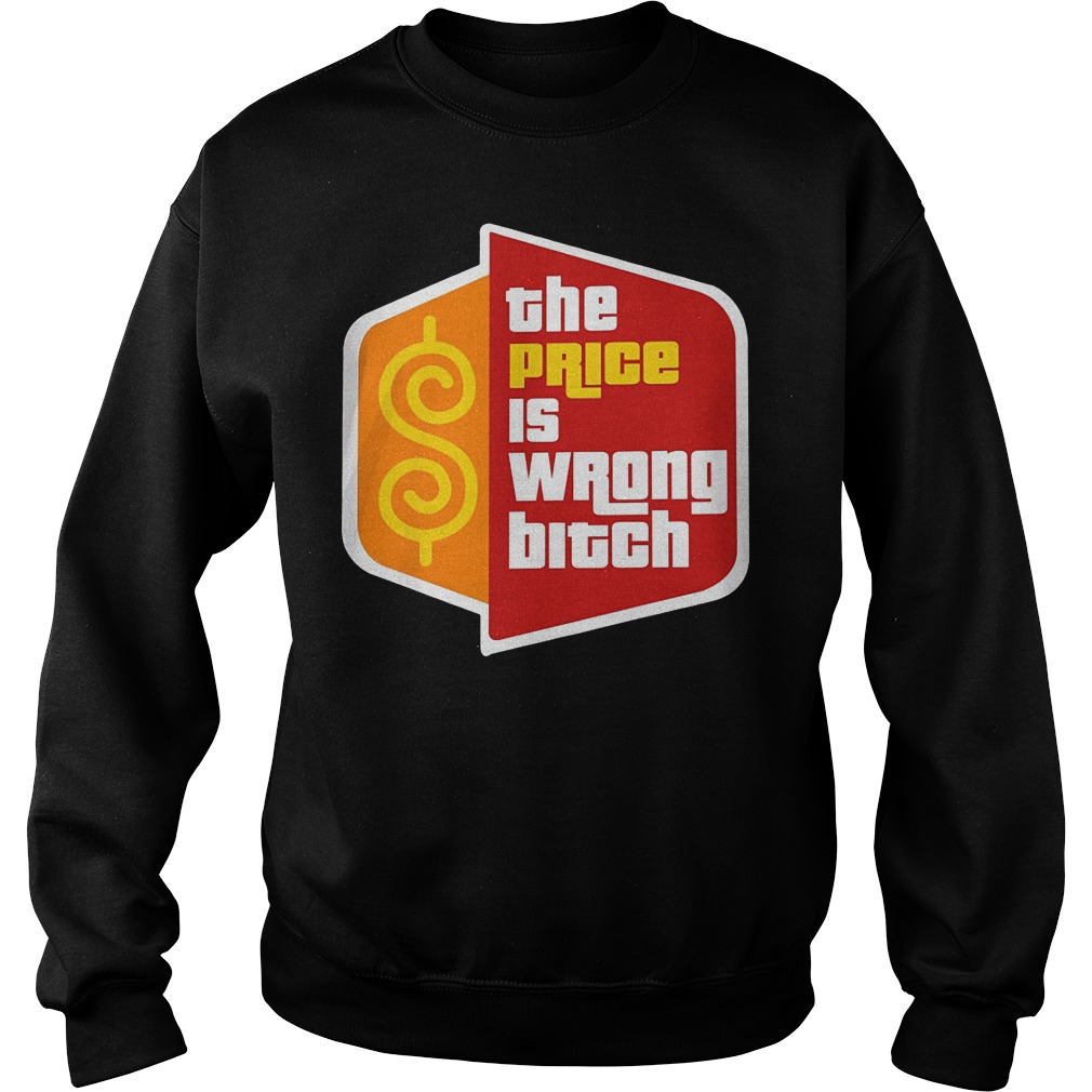 Happy Gilmore The Price Is Wrong Bitch Sweater