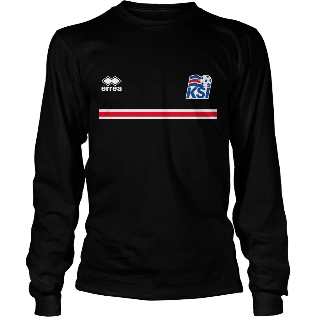 Iceland Football 2016 T-Shirt Unisex Longsleeve Tee