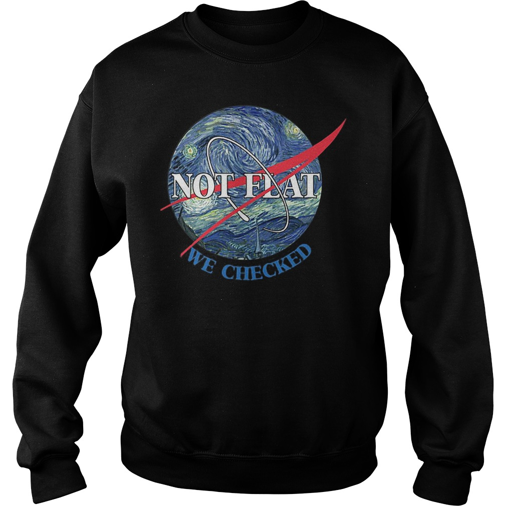Science Not Flat We Checked Sweater
