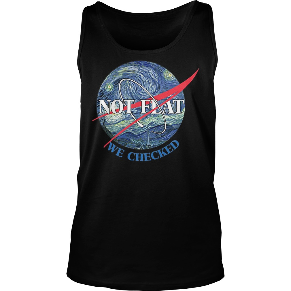 Science Not Flat We Checked Tanktop