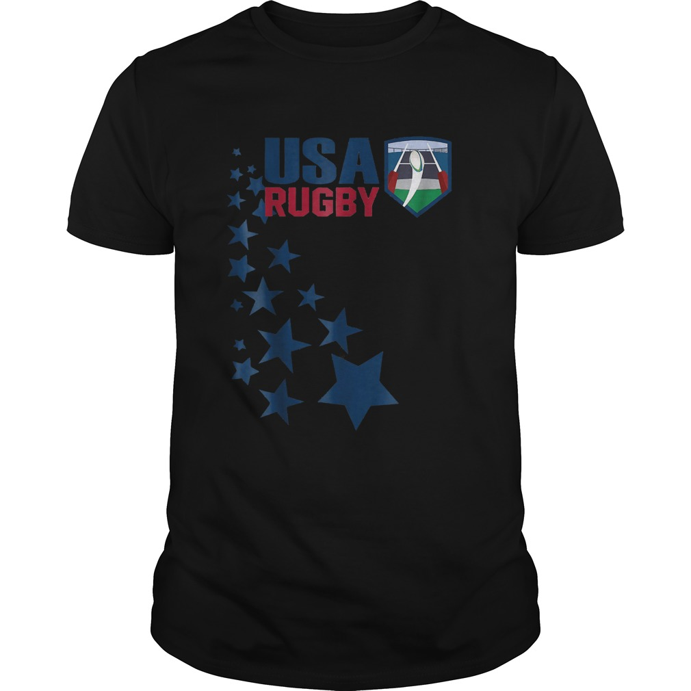American Rugby With Stars T-Shirt Classic Guys / Unisex Tee