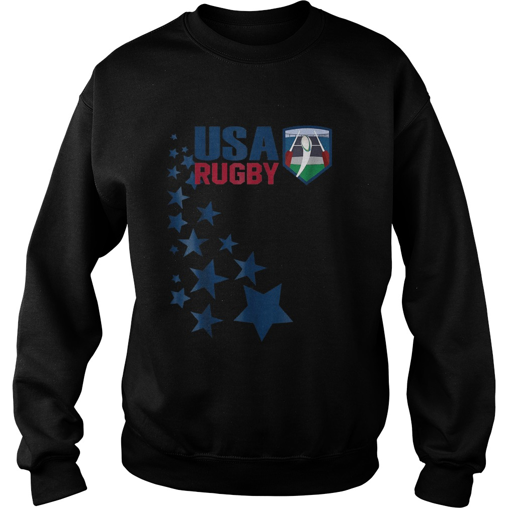 American Rugby With Stars T-Shirt Sweatshirt Unisex