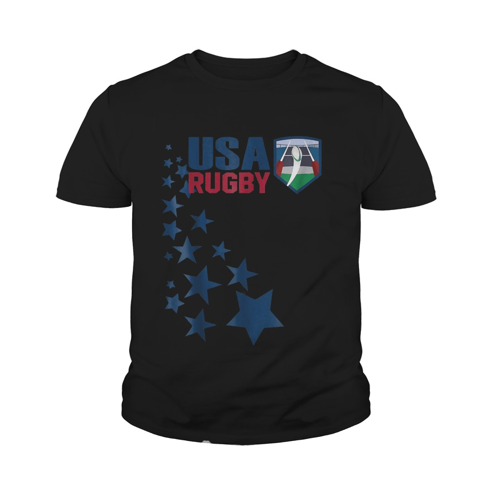 American Rugby With Stars T-Shirt Youth Tee