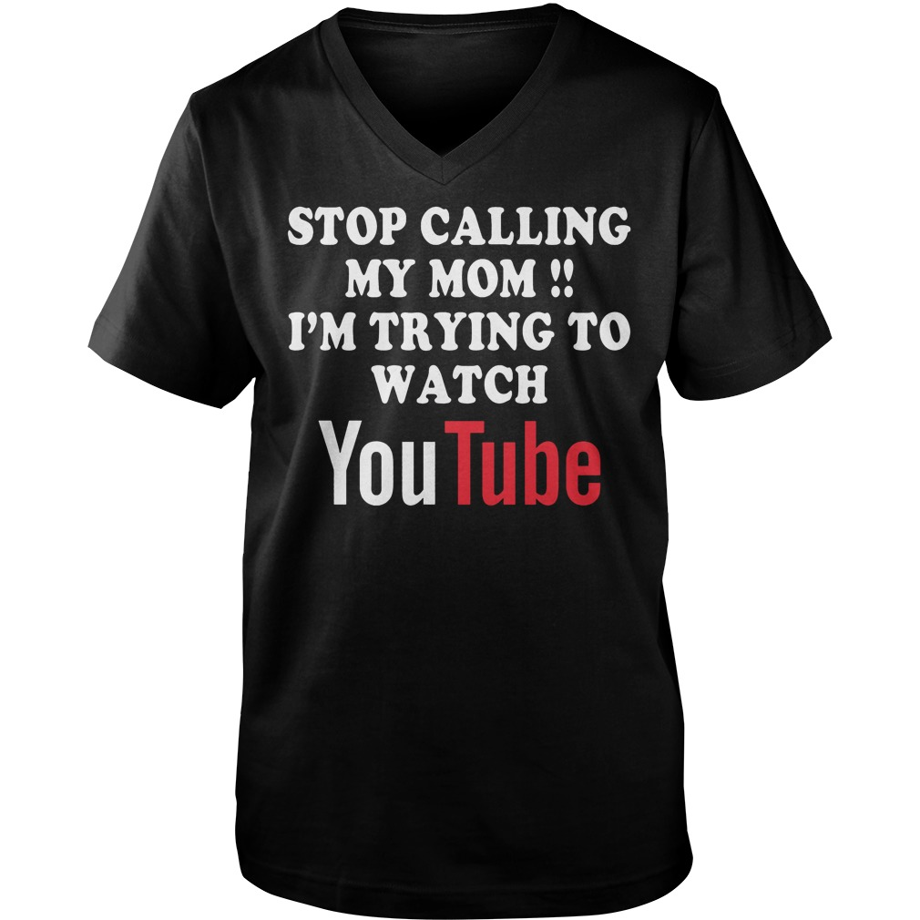 I'm Trying To Watch Youtube T-Shirt Guys V-Neck