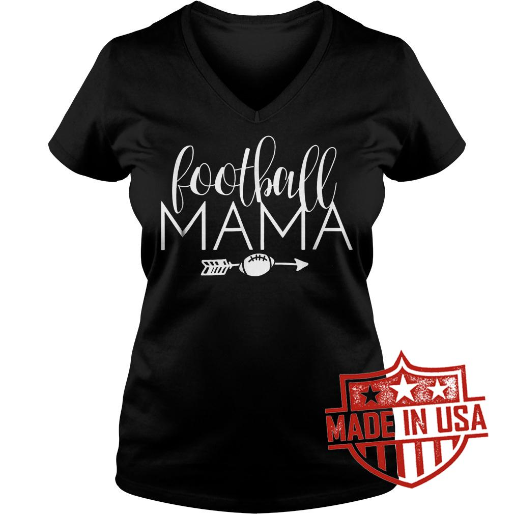 Best Price Football Mama shirt Ladies V-Neck