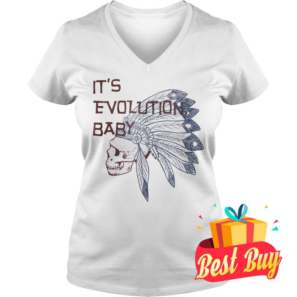 Best Price It's Evolution Baby shirt Ladies V-Neck