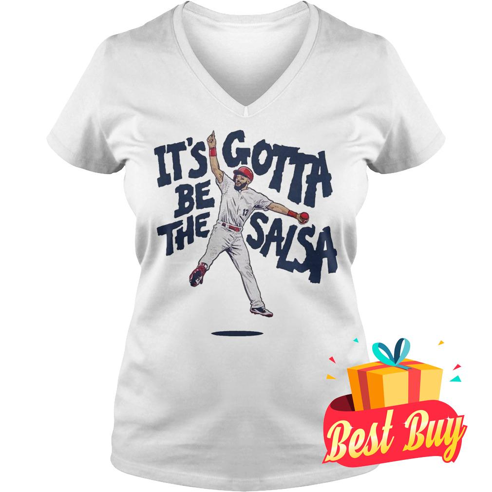 Best Price Matt Carpenter It's Gotta Be The Salsa Shirt Ladies V-Neck