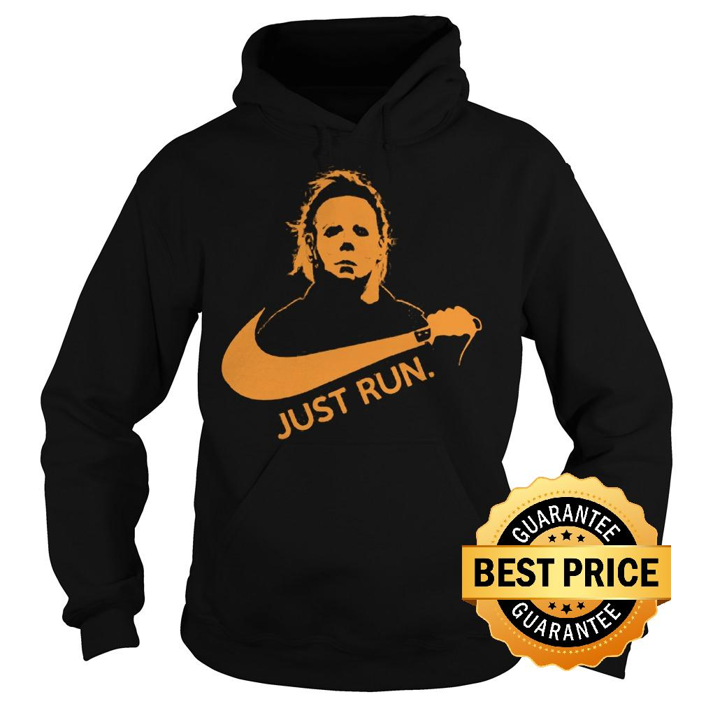 Best Price Nike Michael Myer Just run shirt Hoodie