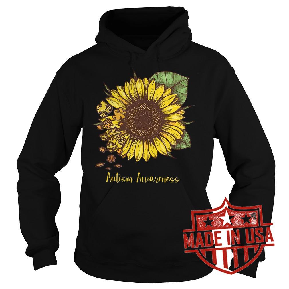Best Price Sunflower Autism Awareness shirt Hoodie