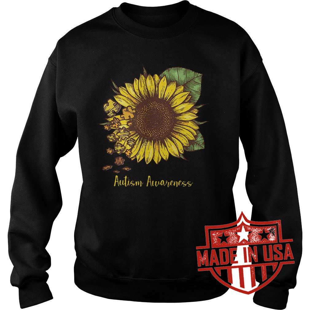 Best Price Sunflower Autism Awareness shirt Sweatshirt Unisex