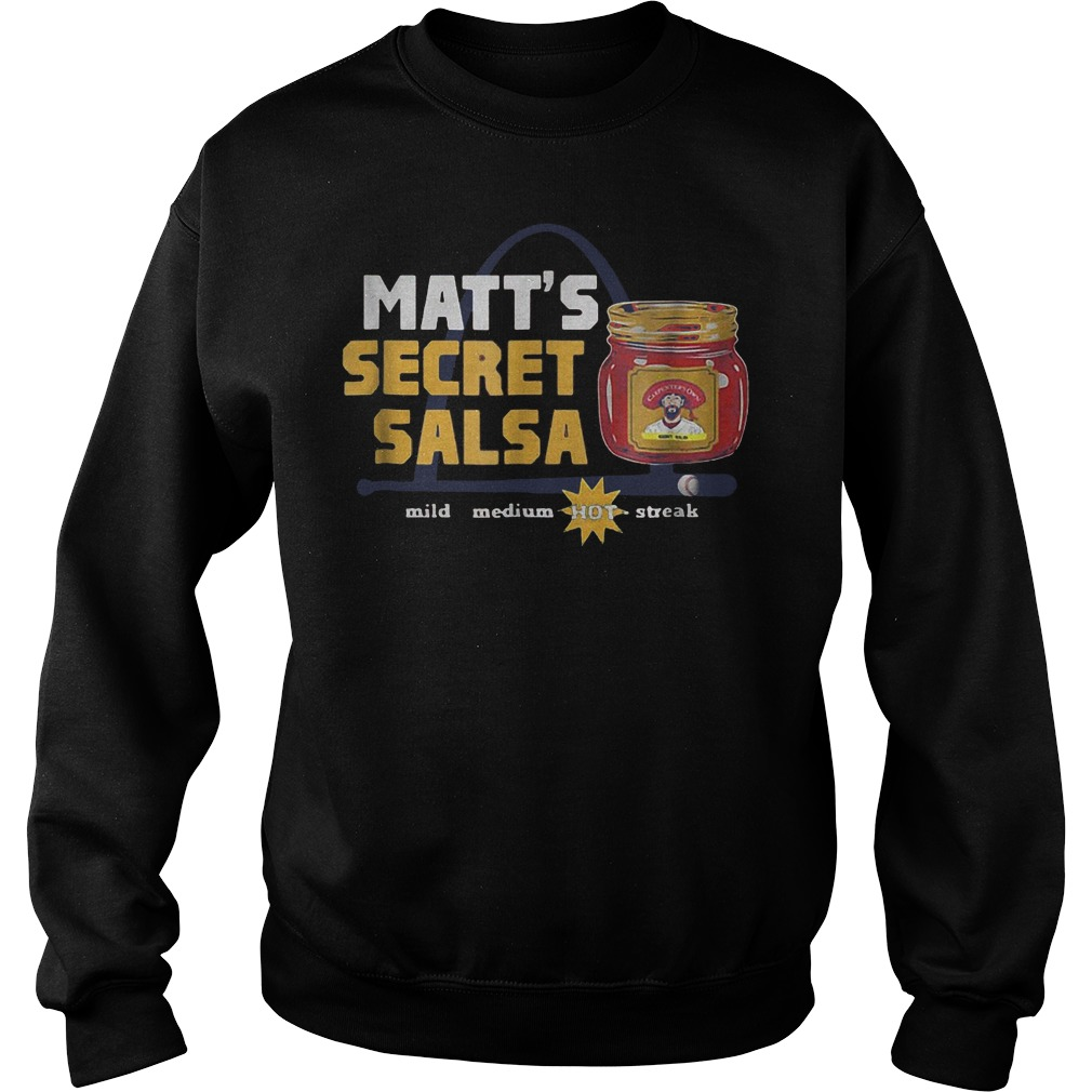 Official Baseball Carpenter Matts Secret Salsa shirt Sweatshirt Unisex