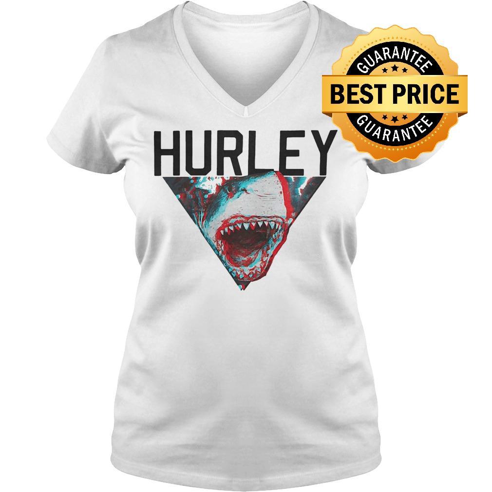 Premium Hurley Open Jaws Big Kids Boys shirt Ladies V-Neck