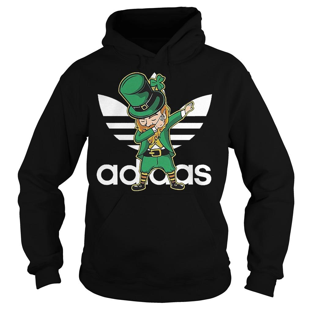 Adidas Leprechaun dabbing St Patrick's day Irish shirt Hoodie