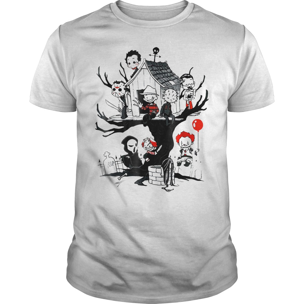 Halloween Serial Killer Tee Horror Shirt