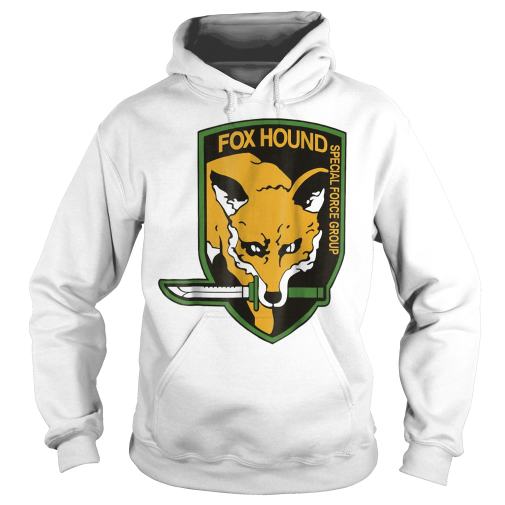 Metal Gear Fox Hound special force group shirt Hoodie